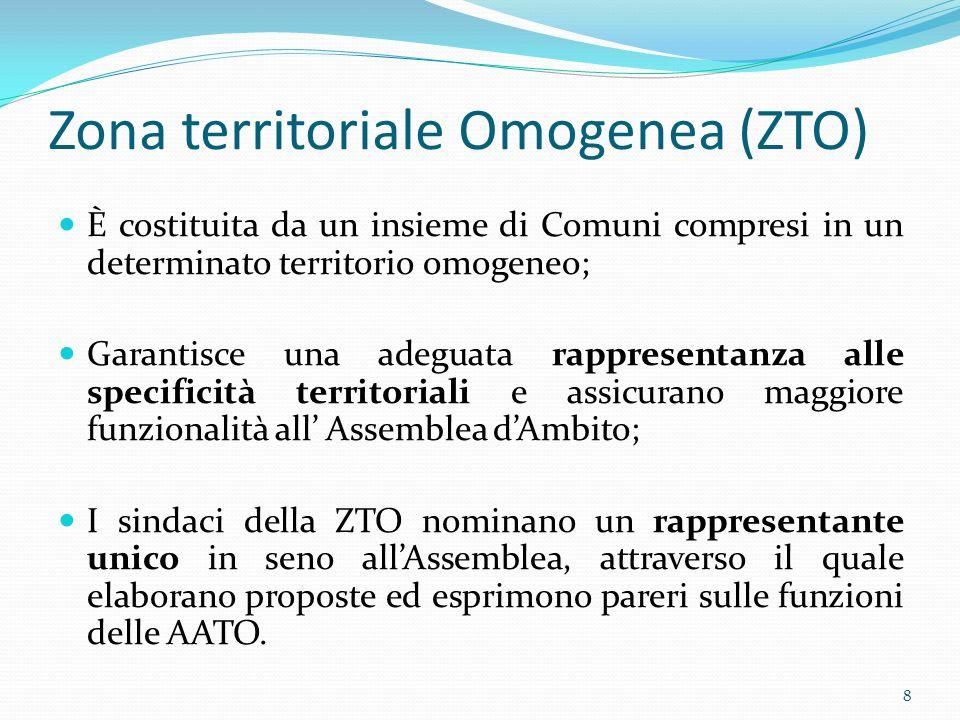 La situazione dellAlto Friuli Autorità dambito Società di gestione. 9