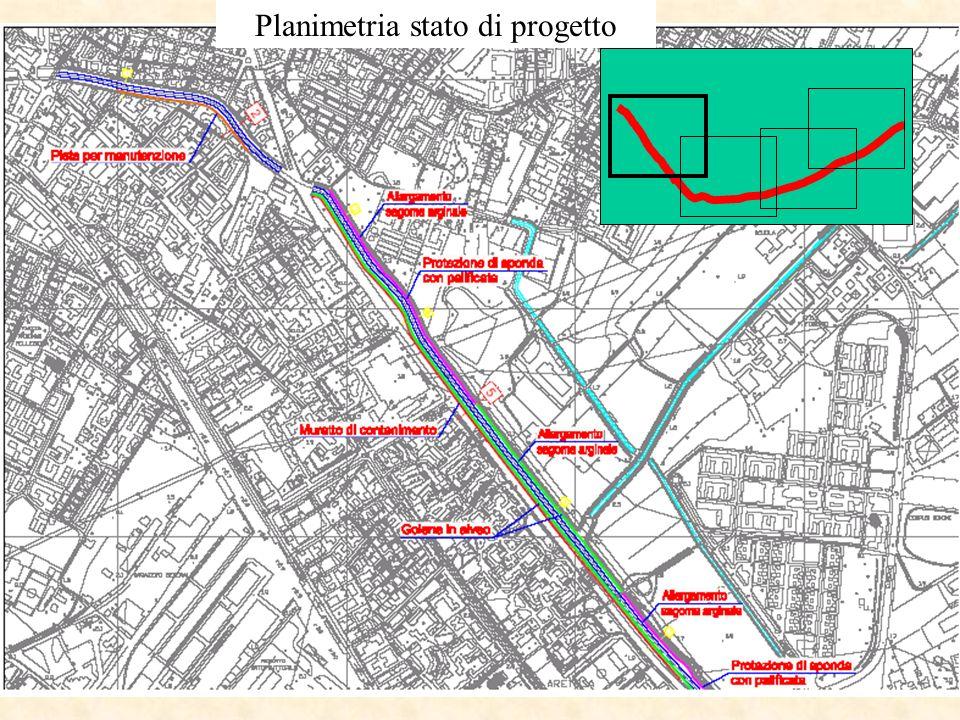 Planimetria stato di progetto