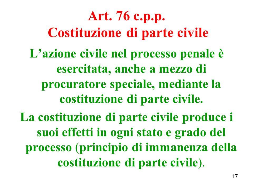 17 Art. 76 c.p.p.