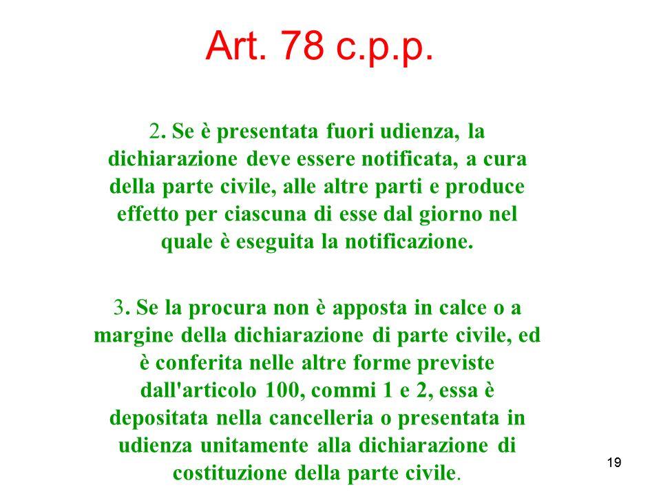 19 Art. 78 c.p.p. 2.