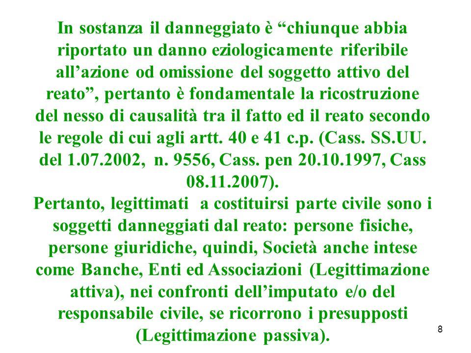 39 La responsabilità del datore di lavoro ex art.2049 c.c.