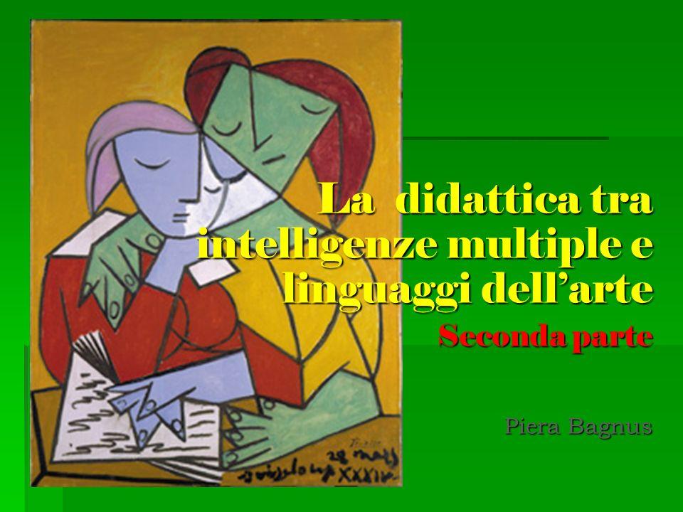 La didattica tra intelligenze multiple e linguaggi dellarte Seconda parte Piera Bagnus