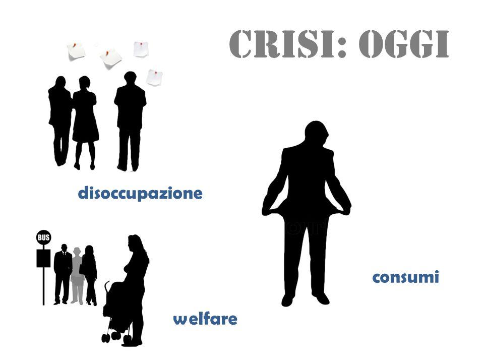 crisi: oggi disoccupazione consumi welfare