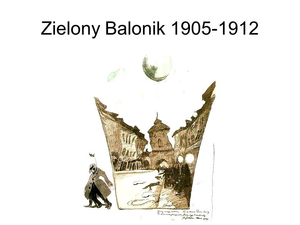 Zielony Balonik 1905-1912
