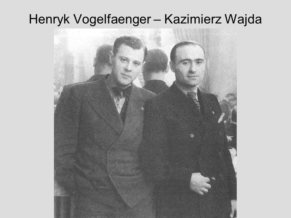 Henryk Vogelfaenger – Kazimierz Wajda