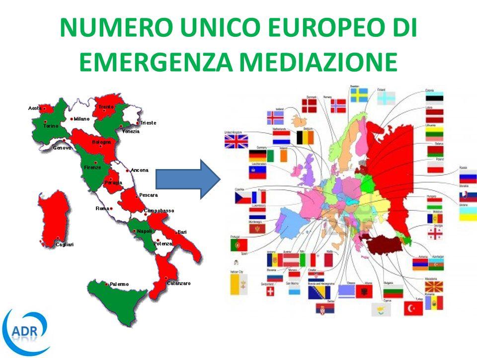 NUMERO UNICO EUROPEO DI EMERGENZA MEDIAZIONE