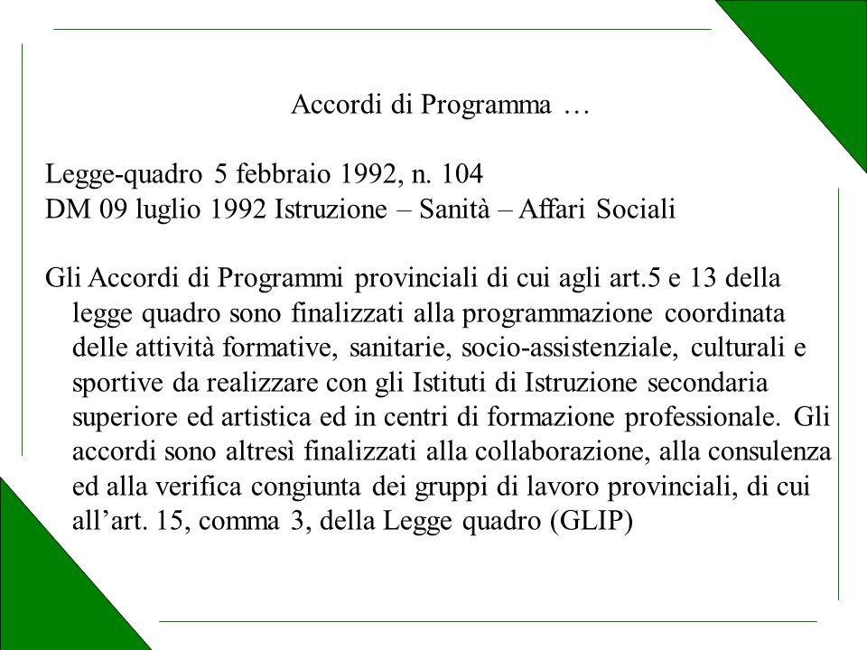 Legge-quadro 5 febbraio 1992, n.