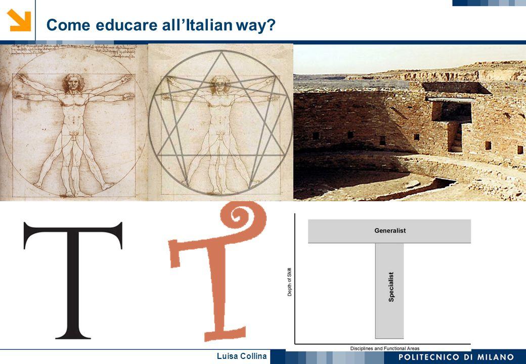 Luisa Collina Come educare allItalian way?