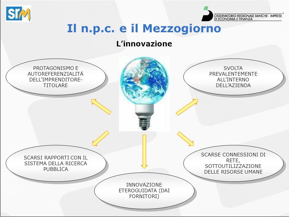 Linnovazione Il n.p.c.