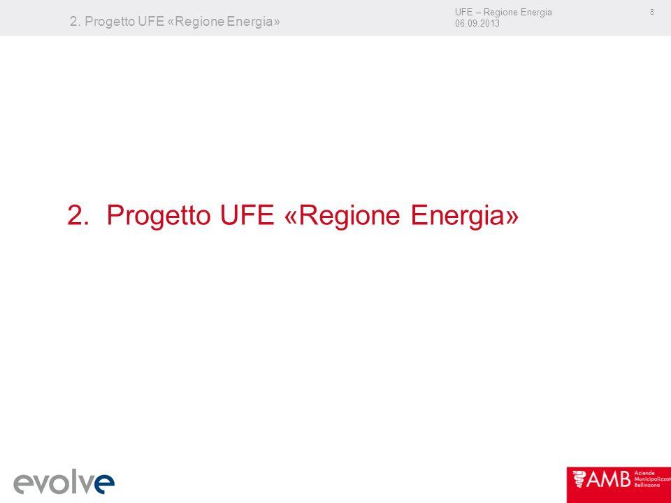 UFE – Regione Energia 06.09.2013 8 2. Progetto UFE «Regione Energia»