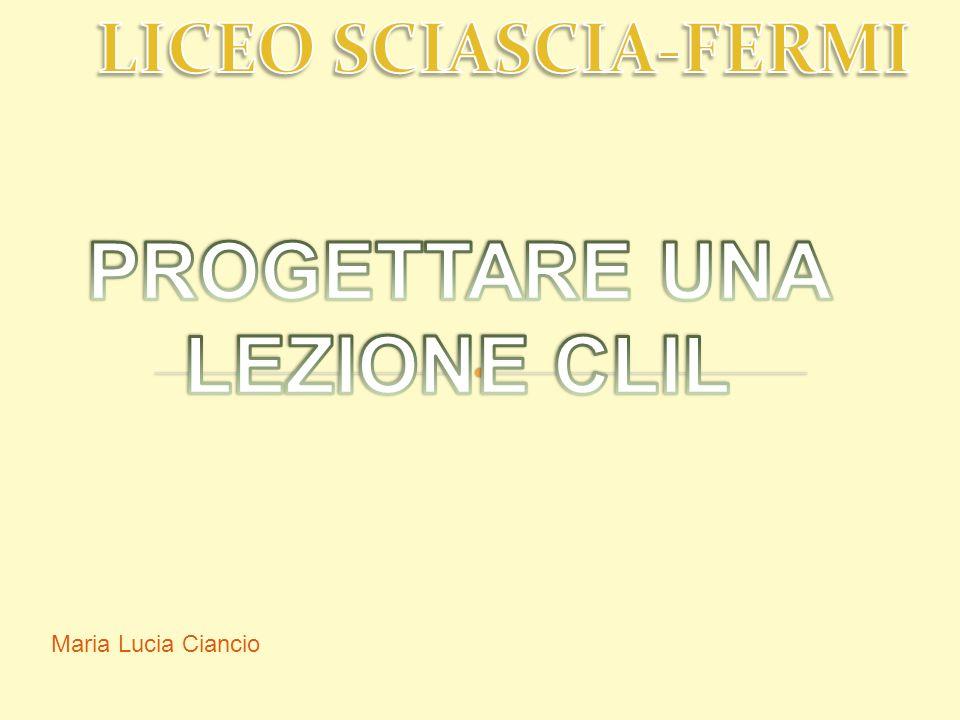 ANALISI DEI BISOGNI Maria Lucia Ciancio