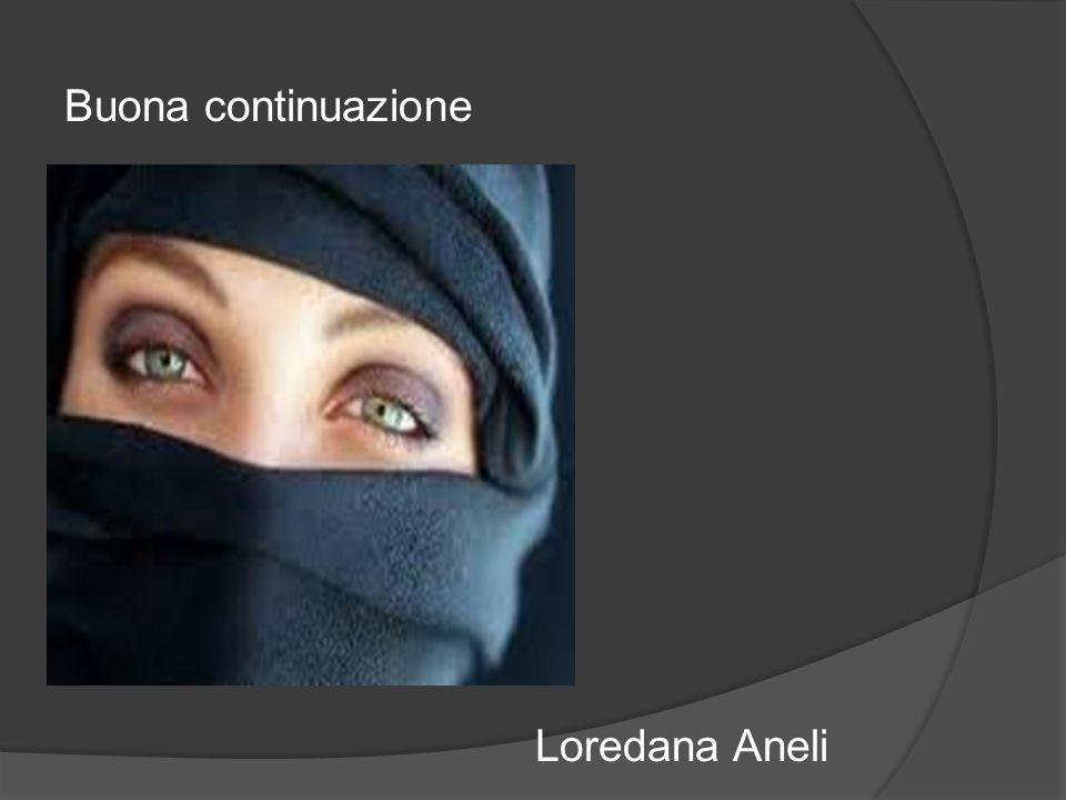 Buona continuazione Loredana Aneli