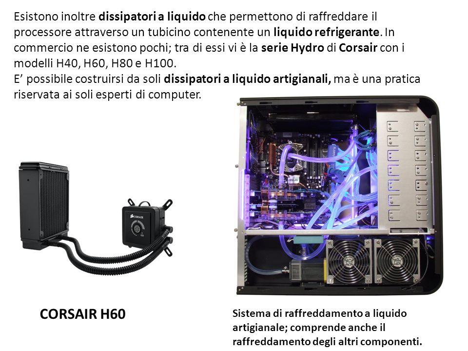 Esistono inoltre dissipatori a liquido che permettono di raffreddare il processore attraverso un tubicino contenente un liquido refrigerante. In comme
