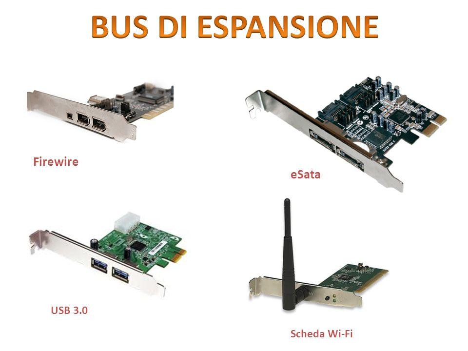 Firewire eSata USB 3.0 Scheda Wi-Fi