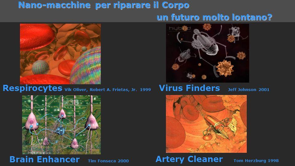 ICTP 13 Nano-macchine per riparare il Corpo un futuro molto lontano? un futuro molto lontano? Respirocytes Vik Oliver, Robert A. Frietas, Jr. 1999 Vir
