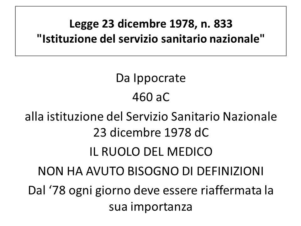 Legge 23 dicembre 1978, n. 833