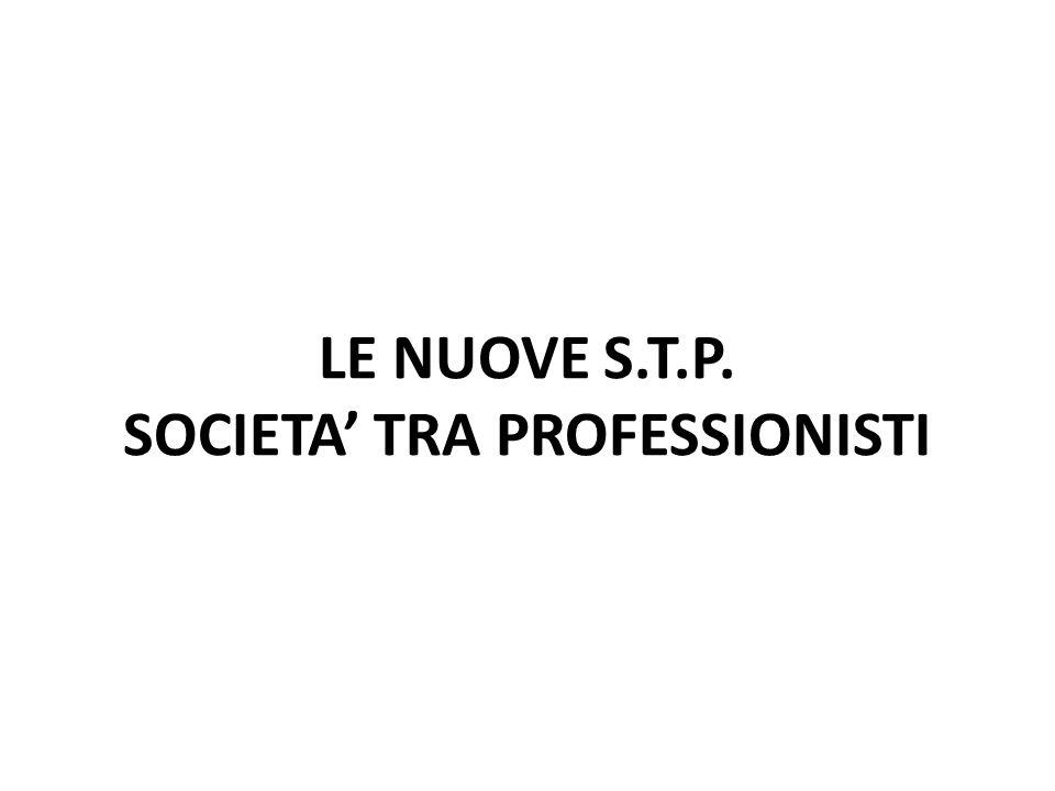 LE NUOVE S.T.P. SOCIETA TRA PROFESSIONISTI