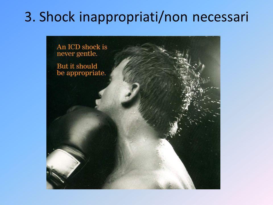3. Shock inappropriati/non necessari