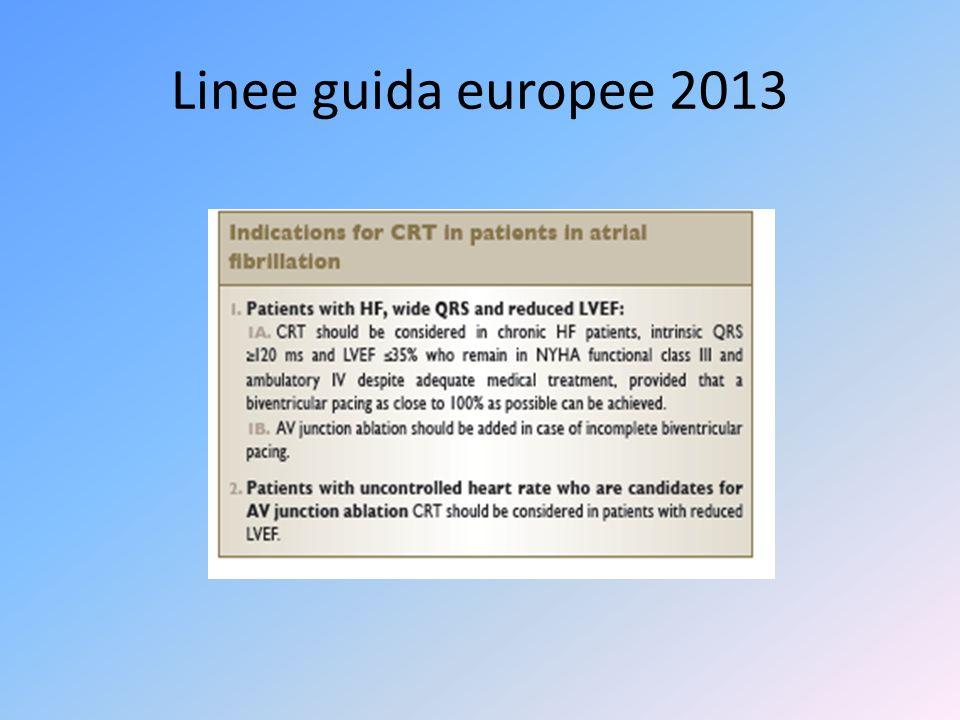 Linee guida europee 2013