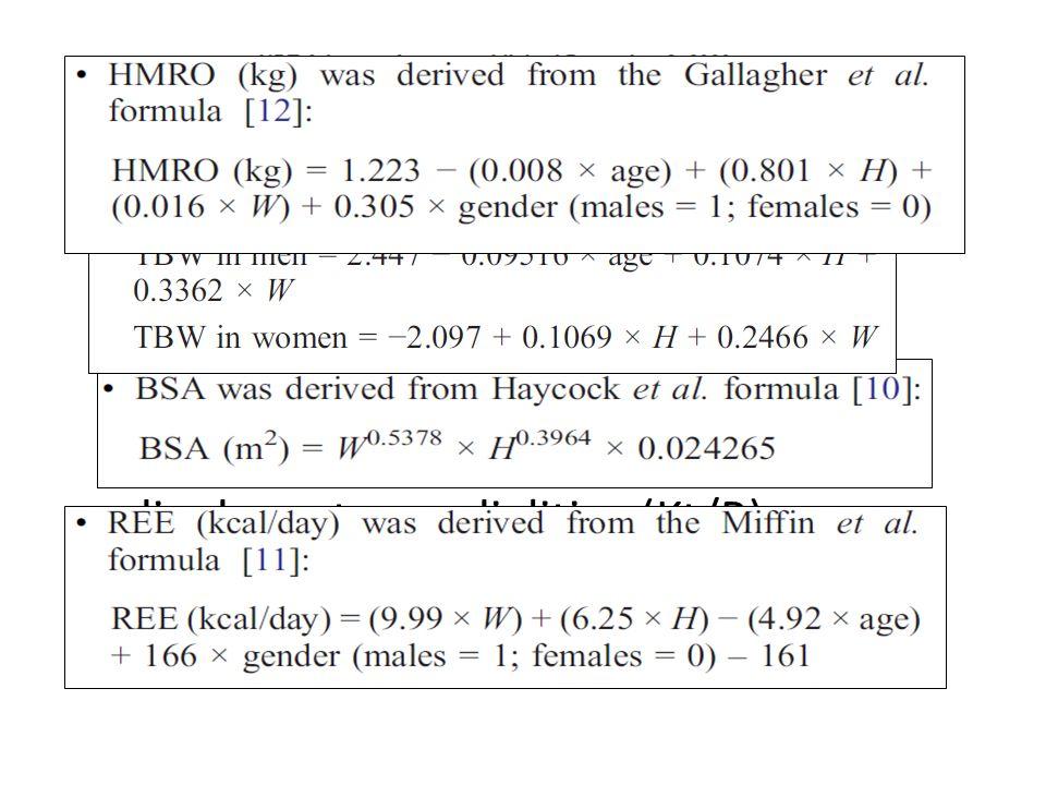 È possibile usare la BIA come indice di adeguatezza dialitica (Kt/R) e usarlo come valutazione di sopravvivenza in dialisi