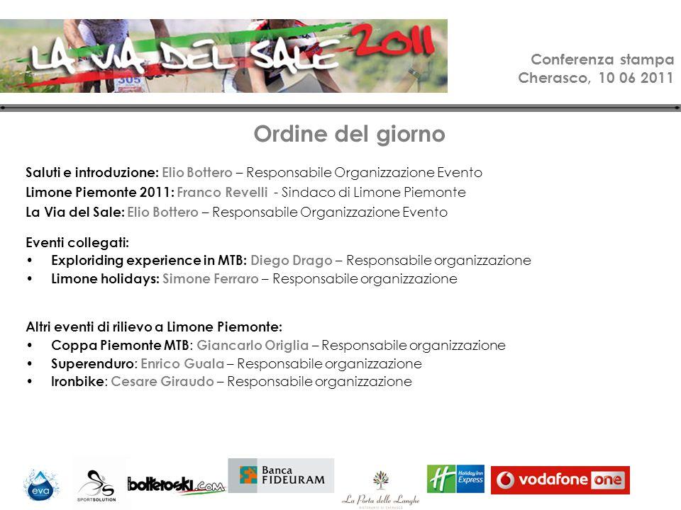 Conferenza stampa Cherasco, 10 06 2011 Coppa Piemonte MTB Dati tecnici: