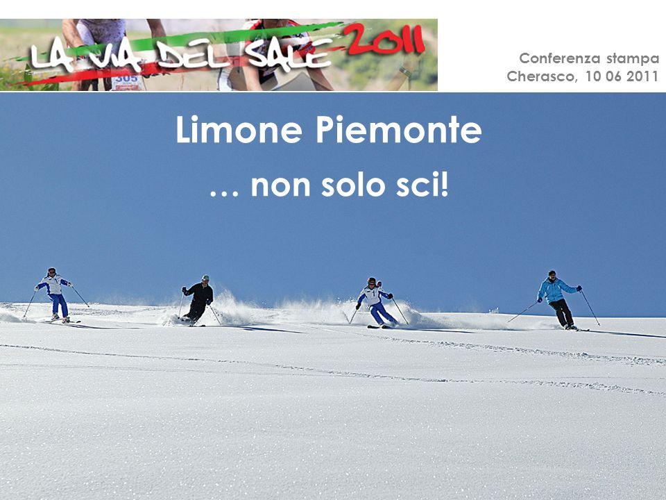 Conferenza stampa Cherasco, 10 06 2011 Limone Piemonte … non solo sci!