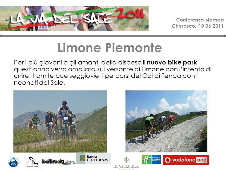 Conferenza stampa Cherasco, 10 06 2011 Ironbike Dati tecnici: