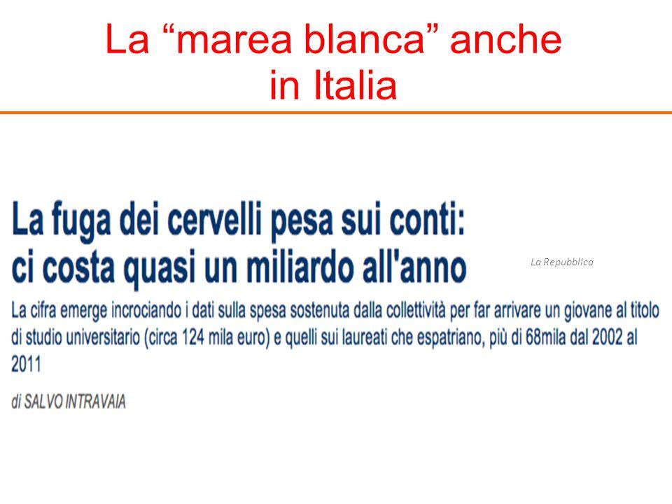 La marea blanca anche in Italia La Repubblica