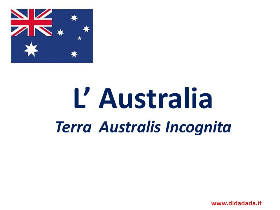 L animazione mostra il costituirsi dei vari stati della Federazione australiana (occhio alla linea del tempo!)