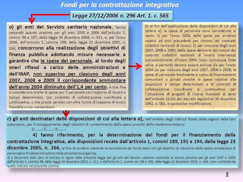 b) ai fini dell'applicazione delle disposizioni di cui alla lettera a), le spese di personale sono considerate al netto: 1) per l'anno 2004, delle spe