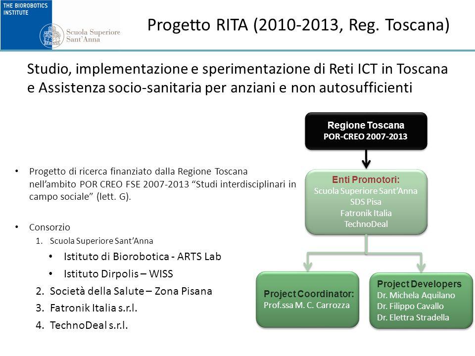 Progetto RITA (2010-2013, Reg.
