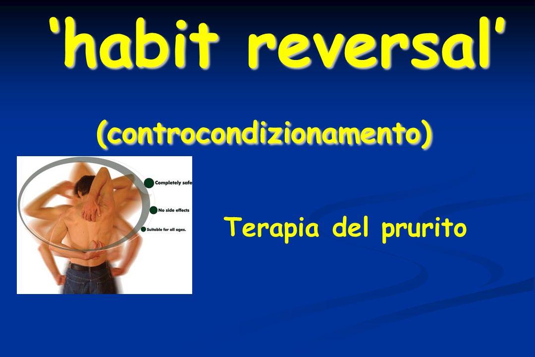 Terapia del prurito habit reversal (controcondizionamento)