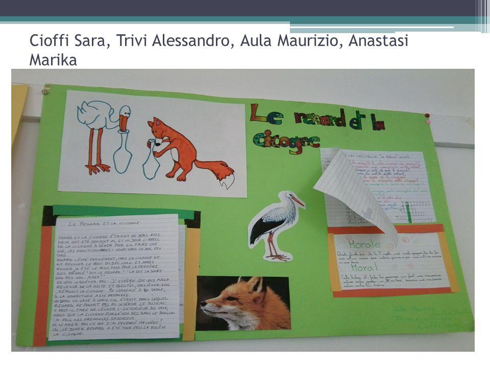 Cioffi Sara, Trivi Alessandro, Aula Maurizio, Anastasi Marika
