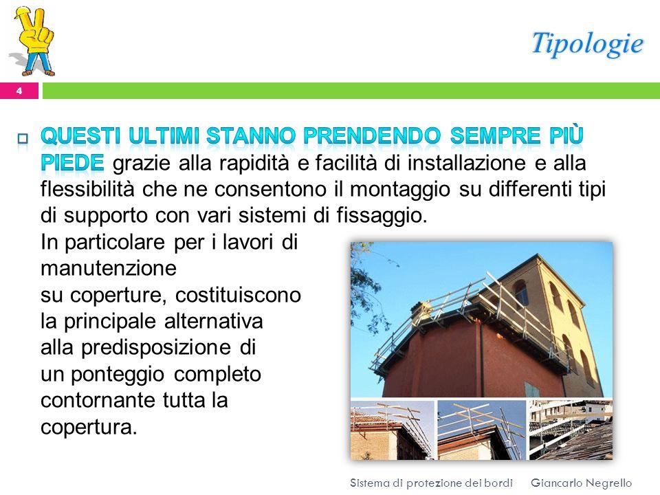 Tipologie Giancarlo Negrello 4 Sistema di protezione dei bordi
