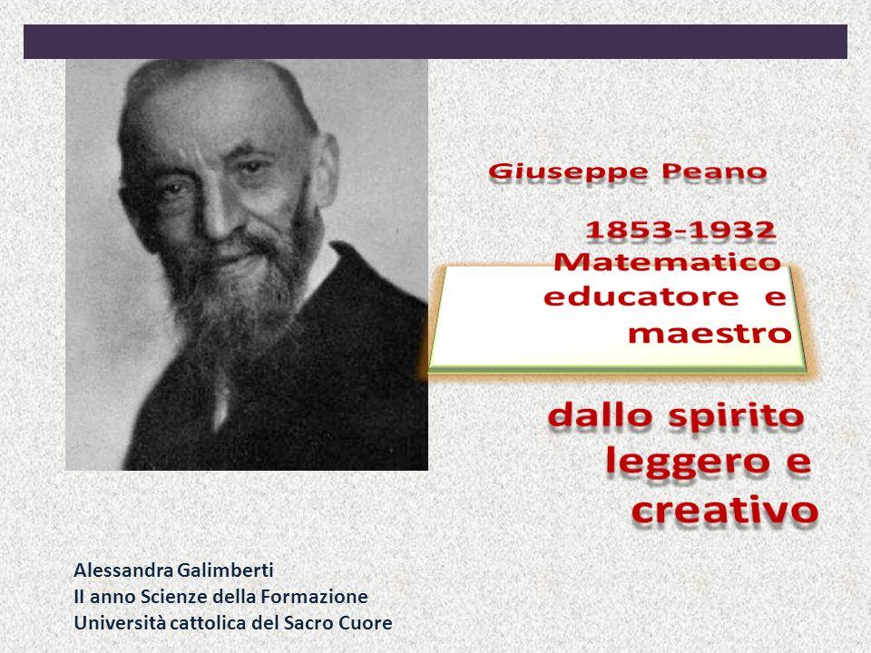 Alessandra Galimberti II anno Scienze della Formazione Università cattolica del Sacro Cuore