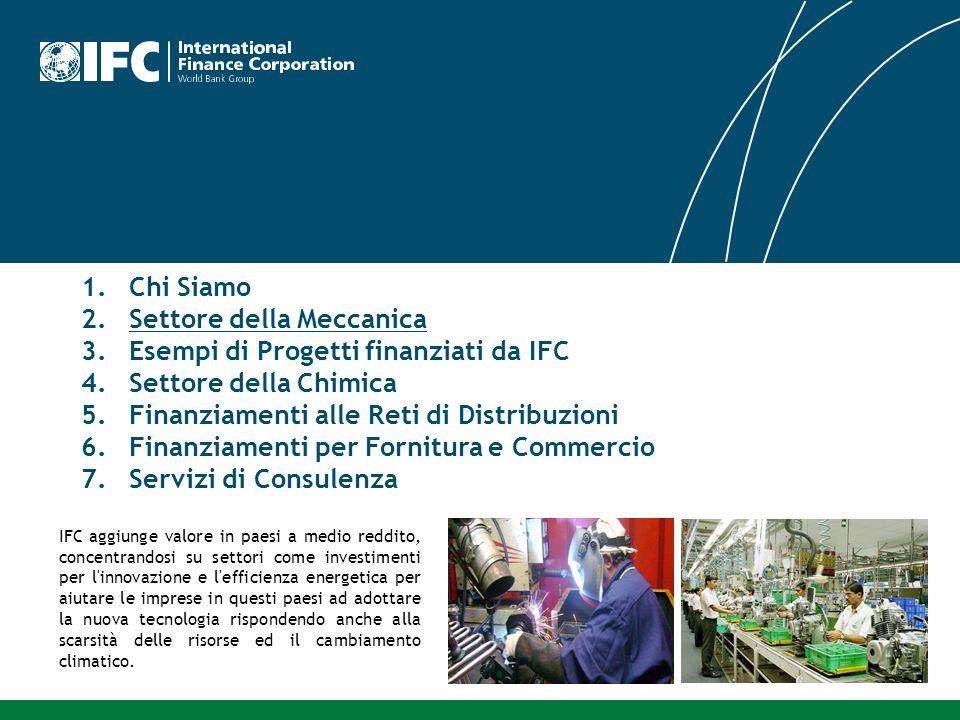 IFC aggiunge valore in paesi a medio reddito, concentrandosi su settori come investimenti per l'innovazione e l'efficienza energetica per aiutare le i