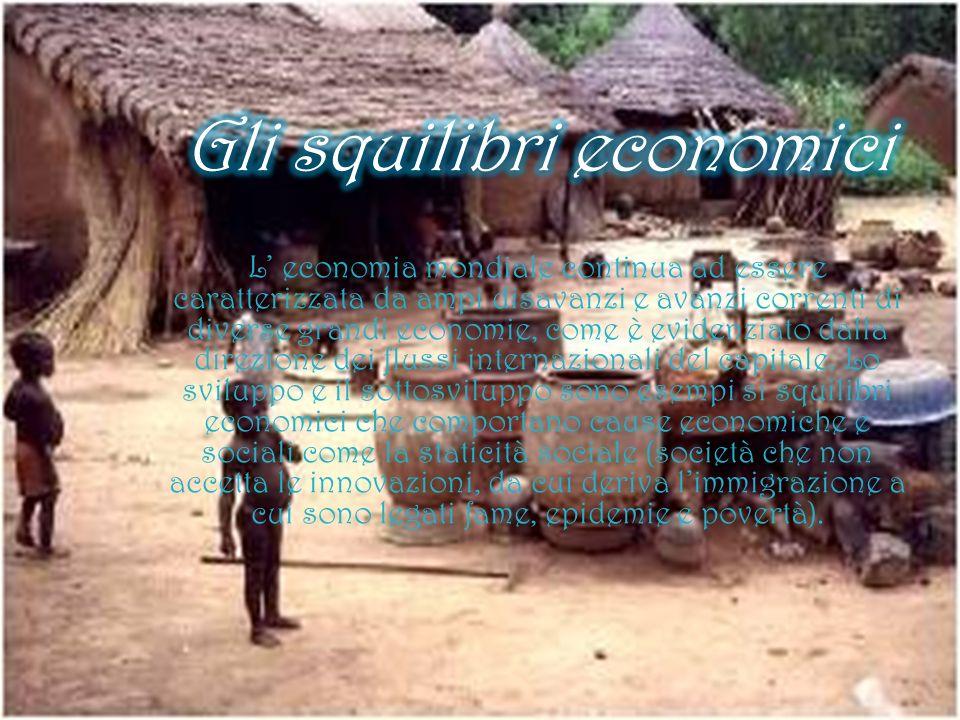 L economia mondiale continua ad essere caratterizzata da ampi disavanzi e avanzi correnti di diverse grandi economie, come è evidenziato dalla direzio