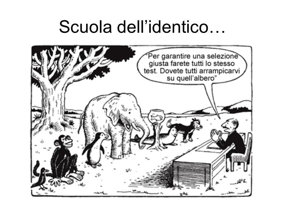 Scuola dellidentico…