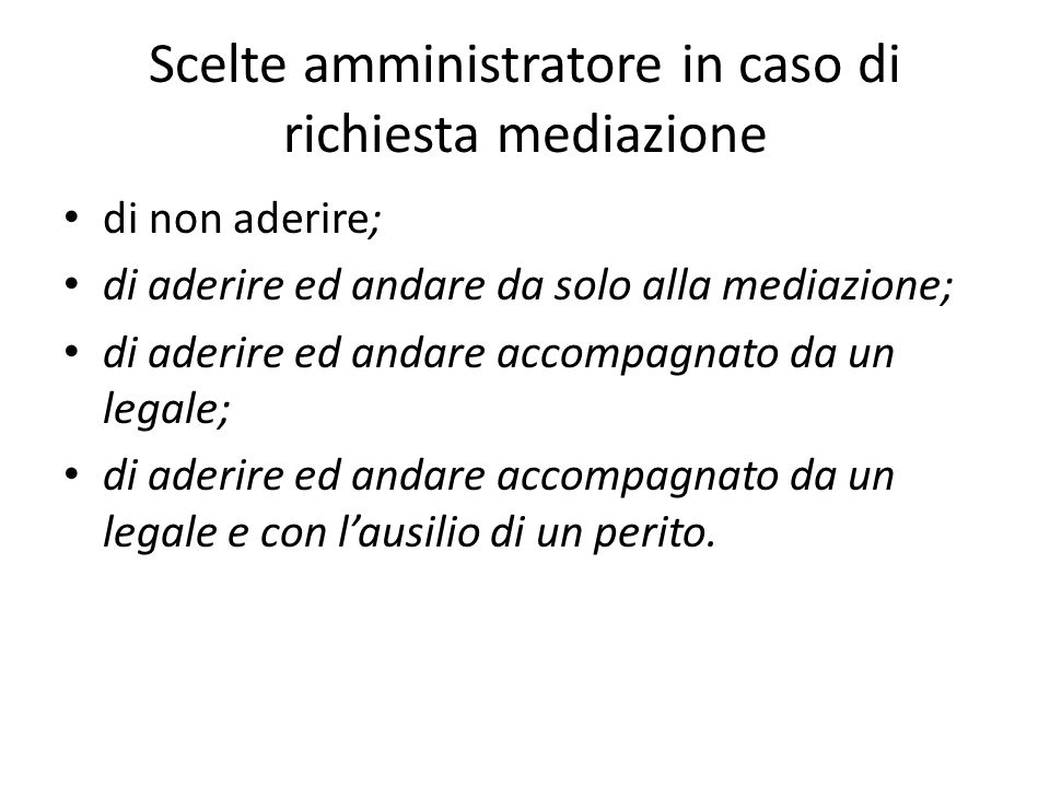 FACSIMILE O.D.G.Mediazione ex D.Lgs. n.