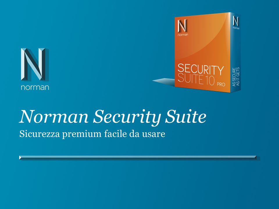 Norman Security Suite Sicurezza premium facile da usare