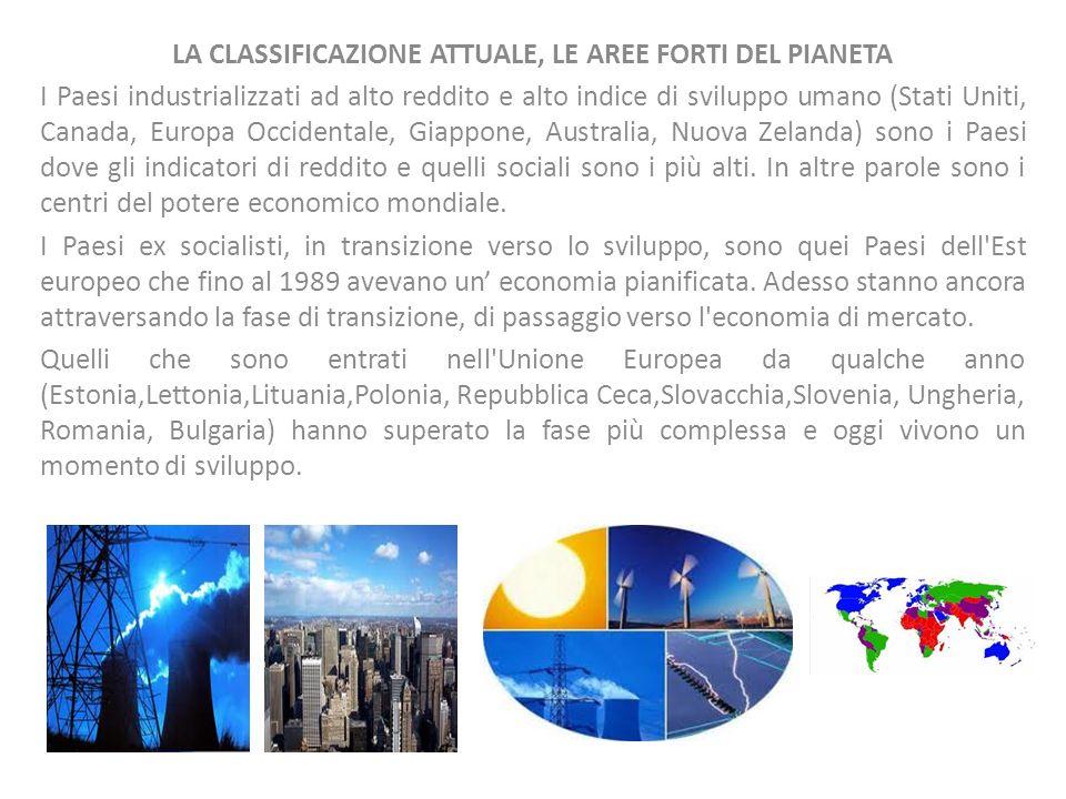 I PAESI A SVILUPPO MEDIO I NIC sono i Paesi di recente industrializzazione (New Industrialized Countries).