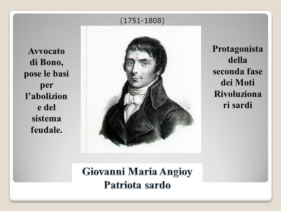 Nato ad Ozieri il 18 maggio 1758, morto a Cagliari nel 1839.