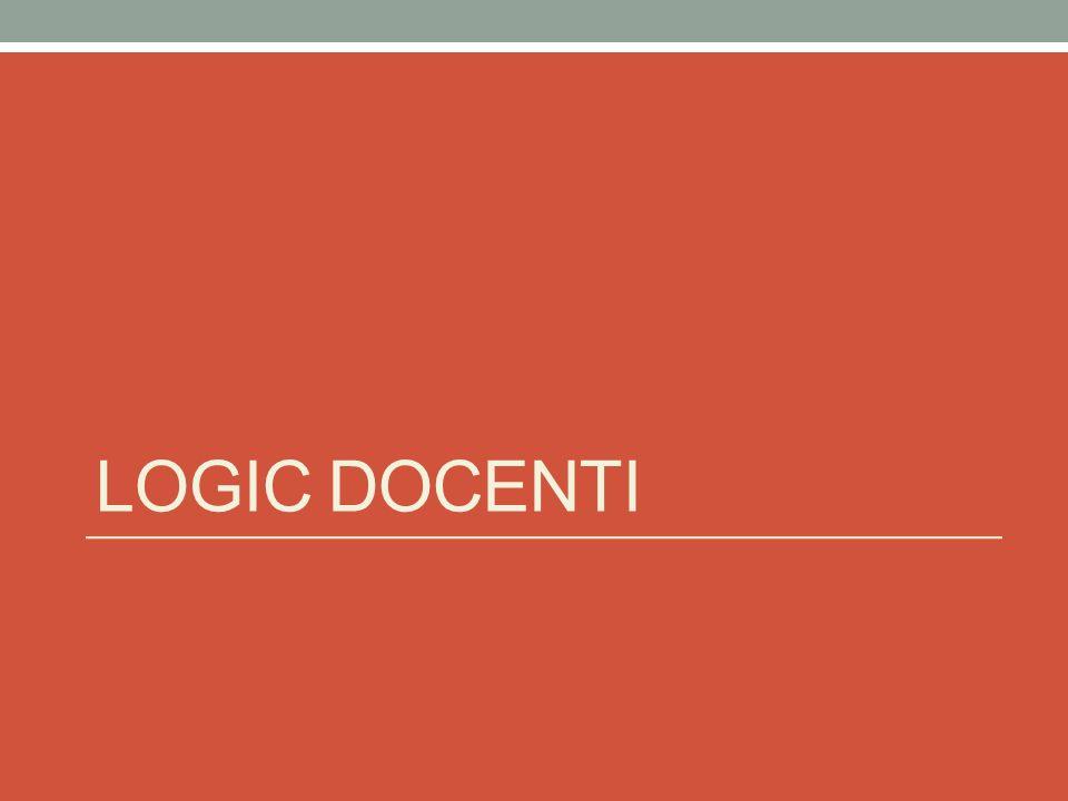 LOGIC DOCENTI