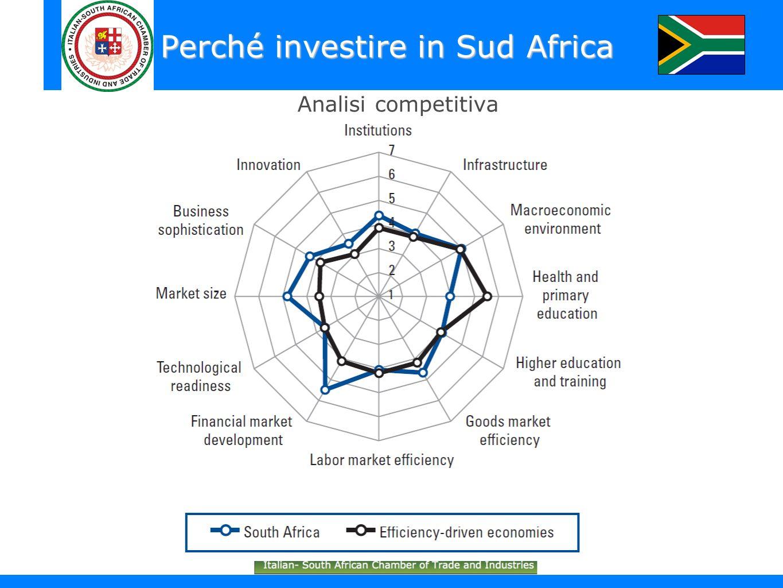 Perché investire in Sud Africa Analisi competitiva