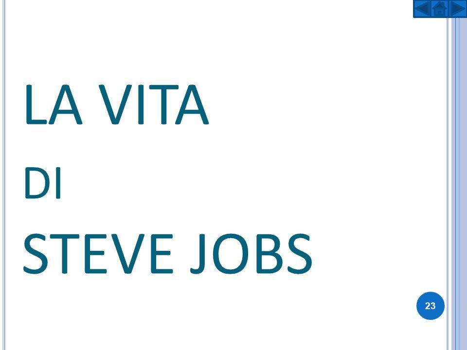 S TEVE J OBS Steven Paul Jobs, noto come Steve Jobs, nato a San Francisco il 24 febbraio 1955 e morto a Palo Alto il 5 ottobre 2011, è stato un imprenditore, informatico e inventore statunitense.