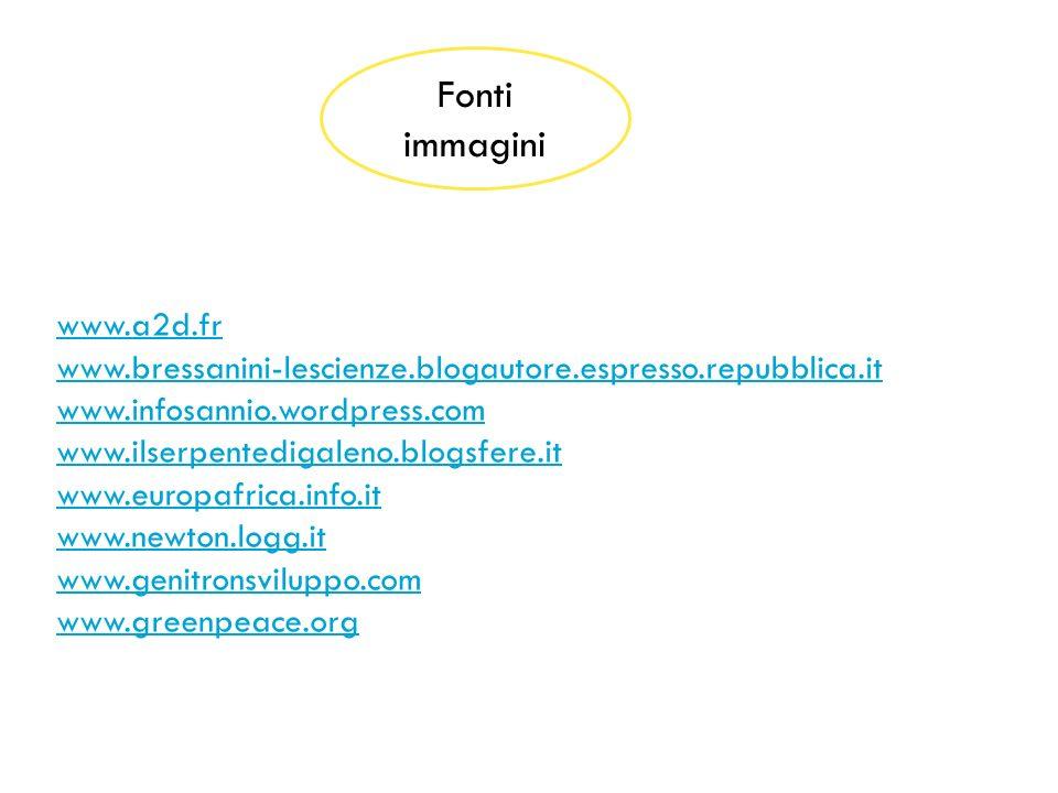 Fonti immagini www.a2d.fr www.bressanini-lescienze.blogautore.espresso.repubblica.it www.infosannio.wordpress.com www.ilserpentedigaleno.blogsfere.it