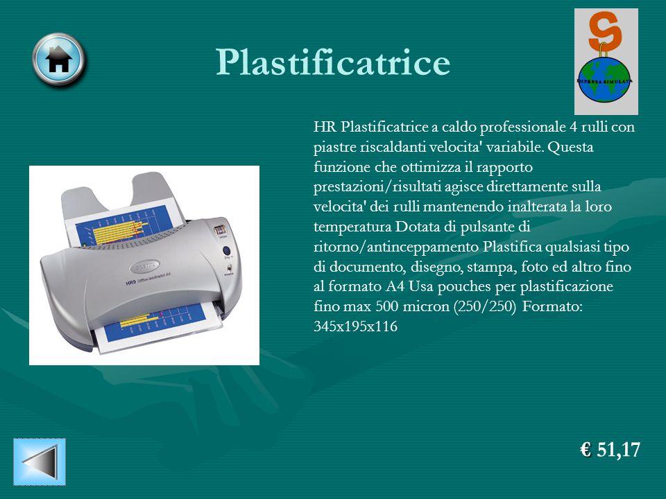 Plastificatrice HR Plastificatrice a caldo professionale 4 rulli con piastre riscaldanti velocita' variabile. Questa funzione che ottimizza il rapport
