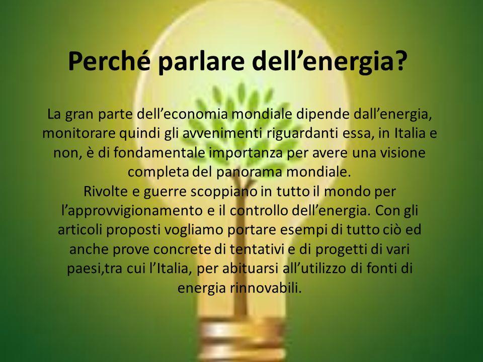 Le energie rinnovabili Un argomento del quale la critica è molto sentita è appunto quello riguardante lenergia rinnovabile,che può avere i suoi pro e i suoi contro.