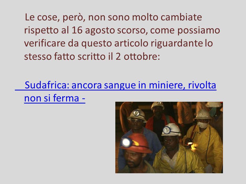 Napolitano ai minatori: vicino alla vostra lotta Sulcis, gesto shock del leader della protesta: si taglia il polso durante la conferenza stampa.