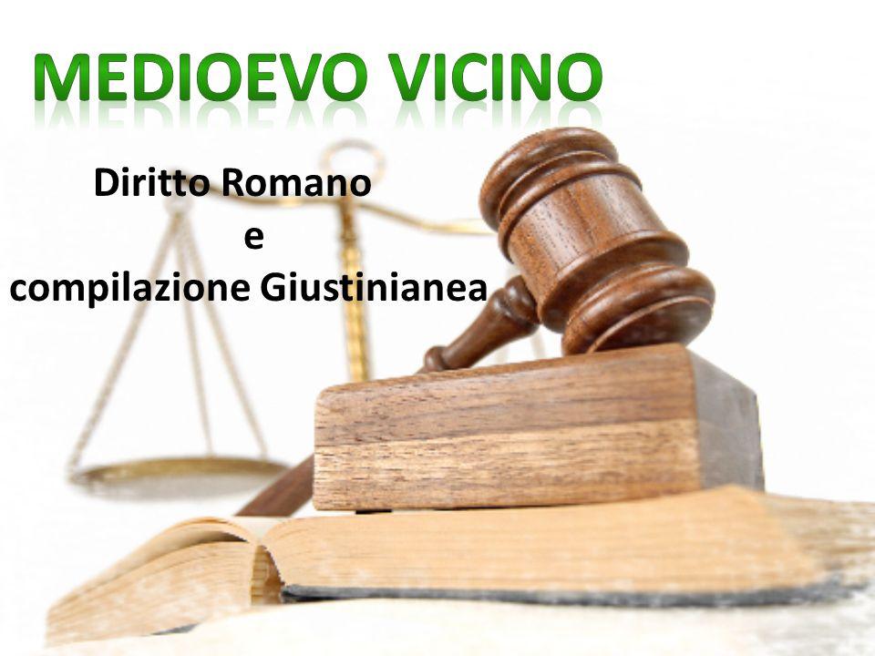 Diritto Romano e compilazione Giustinianea